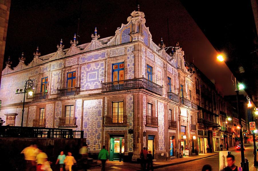 La ciudad el centro y la casa de los azulejos imagen for Casa de los azulejos historia